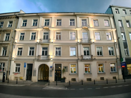 In this building on 45 Żurawia Street, Warsaw, is our law firm